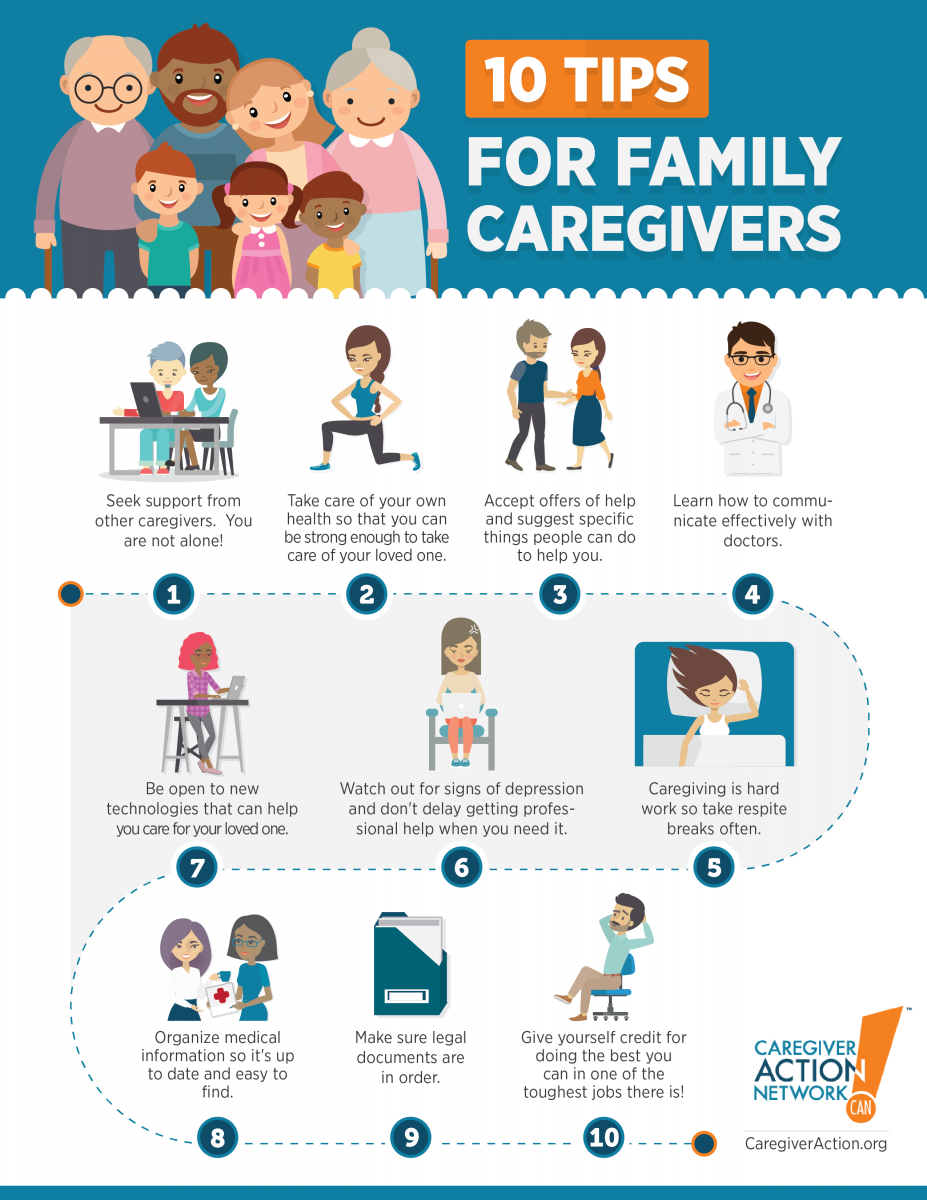 10 tips for family caregivers